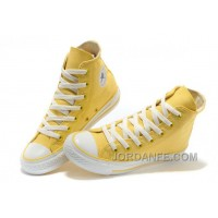 CONVERSE New Color Lemon Yellow Chuck Taylor All Star Canvas Women Shoes Cheap To Buy