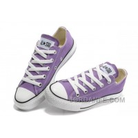Purple CONVERSE Chuck Taylor All Star Canvas Shoes Free Shipping