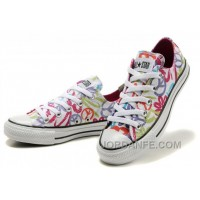 CONVERSE All Star Peace And Love White Canvas Shoes Women Lastest