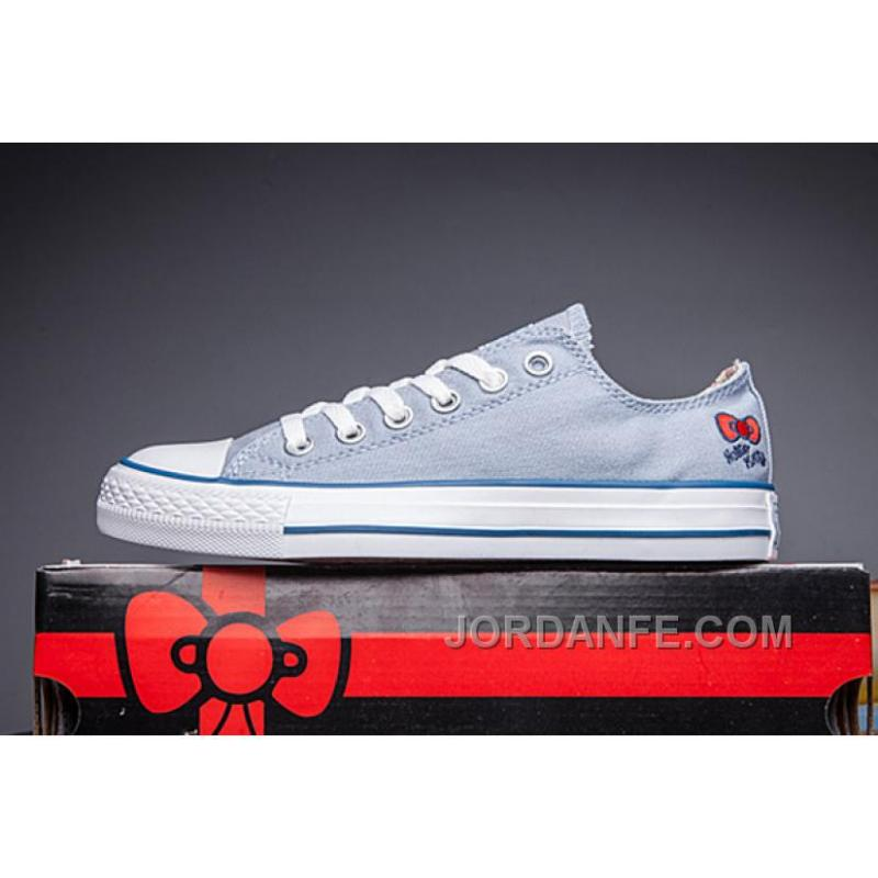 7f7ad2160 USD $60.98 $99.18. Blue CONVERSE Hello Kitty Chuck Taylor All Star Online  ...