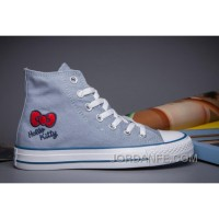 Blue CONVERSE Hello Kitty Chuck Taylor All Star For Sale