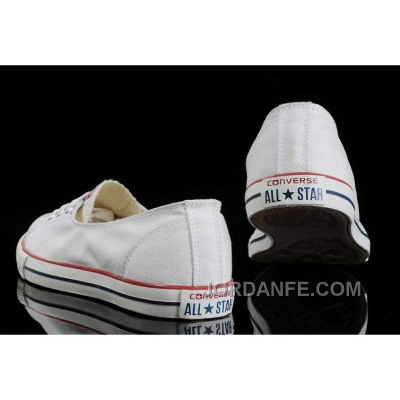 37b74908142b96 ... New White CONVERSE Ballet Flats Dainty Ballerina Chuck Taylor All Star  Summer Traning Shoes For Ladies