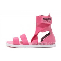 Pink CONVERSE Chuck Taylor All Star Gore Roman Sandals Top Deals