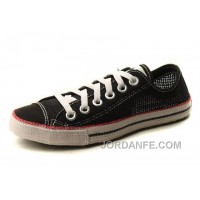 Black All Star CONVERSE Summer Collection Chuckout Mesh Style Tops Casual Shoes New Release