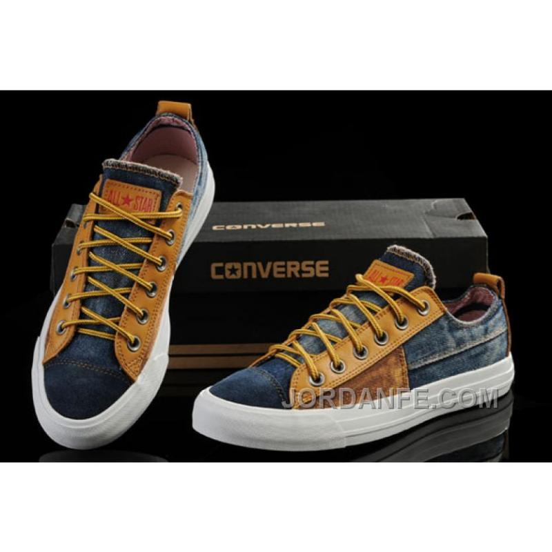 283be920d9db ... For Sale Avengers Style Iron Man CONVERSE Tops Brown Yellow Tonal  Stitching Canvas Sneakers ...