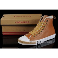 Maroon Soft Nap Tawny CONVERSE Winter All Star Shearling Leather Shoes New Release