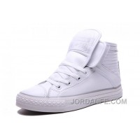 White CONVERSE Big Tongue Velcro Winter Leather CT All Star Shoes Top Deals