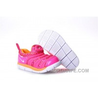 Kid's Nike Dynamo Free Shoes Colorful Pink 613 For Sale