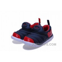 Kid's Nike Dynamo Shoes White/Red/Blue 463 Free Shipping