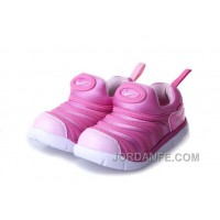 Kid's Nike Dynamo Free Shoes White/Rose 561 Discount