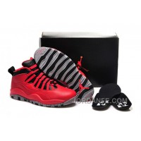 """Girls Air Jordan 10 """"Bulls Over Broadway"""" Shoes For Sale New Release"""