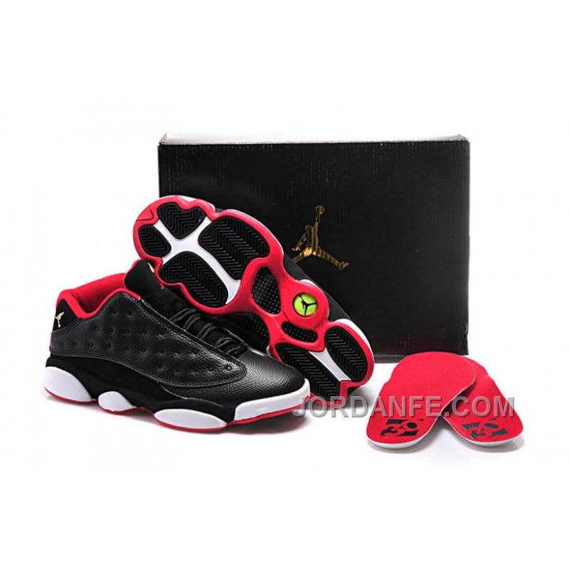 "cfb9e3713c7015 Girls Air Jordan 13 Retro Low GS ""Bred"" For Sale Discount"