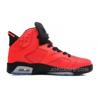 Air Jordans 6 Retro Infrared 23/Black-Infrared 23 For Sale Authentic