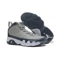 cheaper 436ed c02d5 Air Jordans 9 Retro Medium Grey Cool Grey-White For Sale Discount