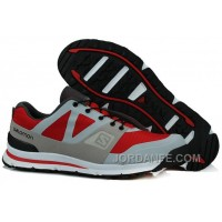 Salomon Outban Low Hombres Outdoor Leisure Zapatos Color Gris Rojo Colors Bajo Precio Lastest