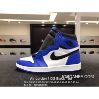 2018 Cheap To Buy Authentic Air Jordan 1 Og Black E New White Dark Blue Size 39 40 555088-403 41 42 43 And 44 42 5 40 5 44 5 45 90204630 Hg