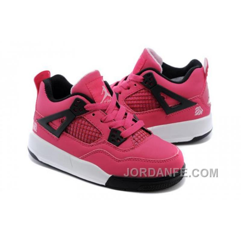newest 24a6d d10cc ... Kid Jordan IV (4) Voltage Cherry White-Black Pink Xmas Deals ...