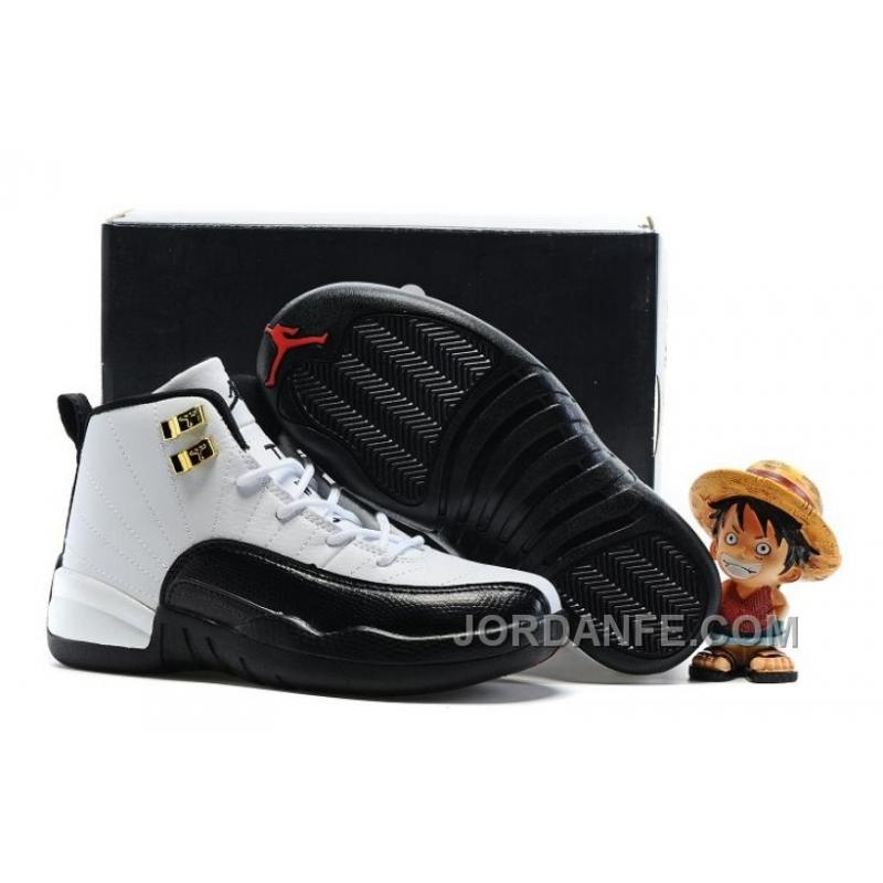 "wholesale dealer cd7d8 21064 Kids Air Jordan 12 ""Taxi"" White/Black 2016 Online, Price: $81.00 ..."