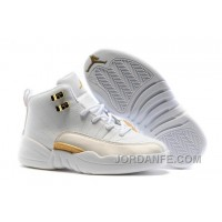 "Kids Air Jordan 12 ""OVO White"" 2016 For Sale Authentic"