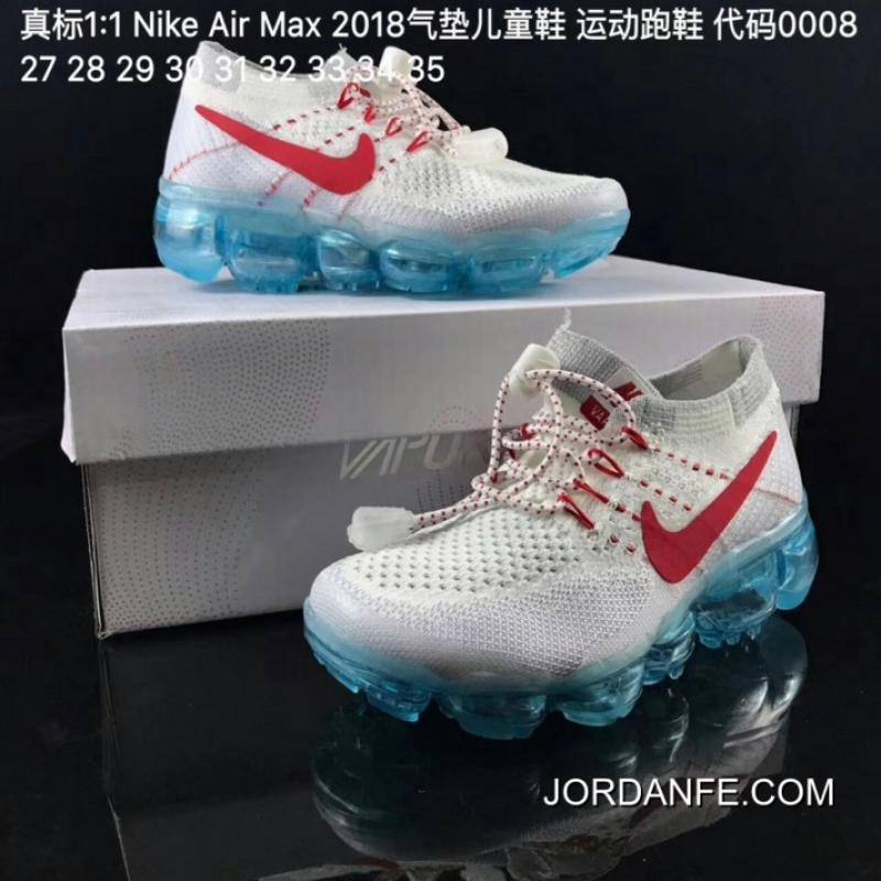 0855728f684 USD $95.36 $286.07. Big Deals Kids Nike Air VaporMax 2018 Flyknit Running  Shoe ...