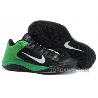 Cheap Nike Hyperfuse Low Basketball Shoes Black Green White Authentic