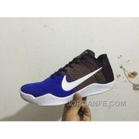 Kobe 11 New Color Blue Black Free Shipping