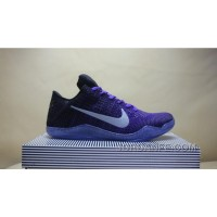 Kobe 11 Elite Low Hyper Grape Purple 822675-510 Free Shipping