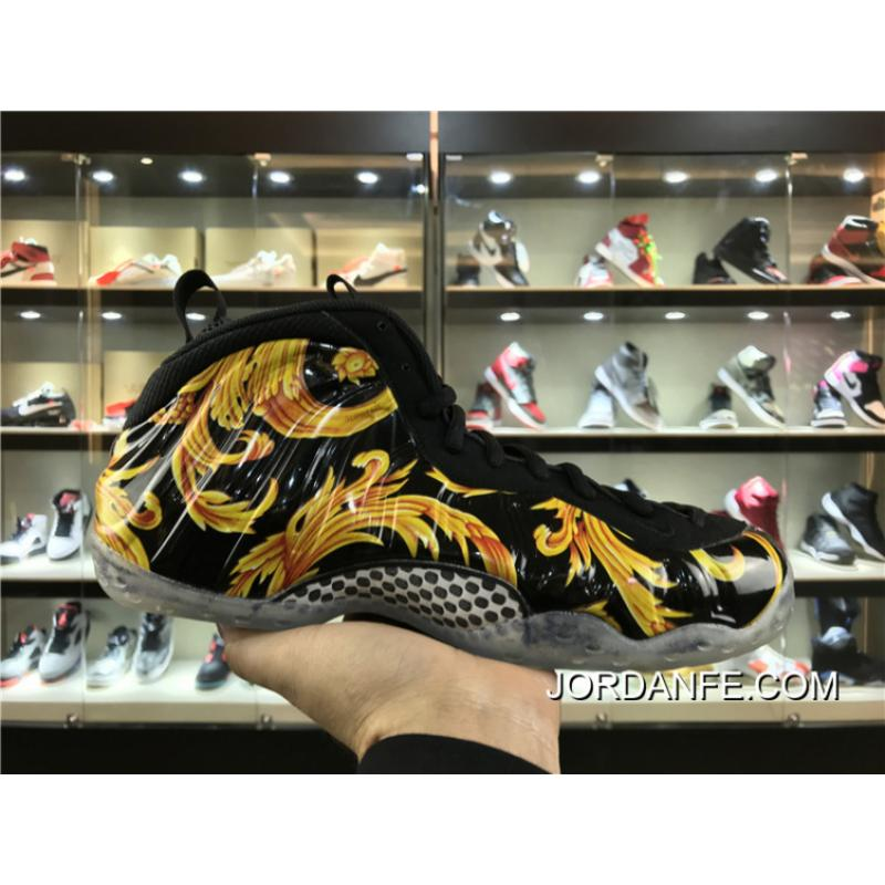 3ef105b587e New Year Deals Hardaway Foamposite Black Phoenix Straw Dip Forceful ...