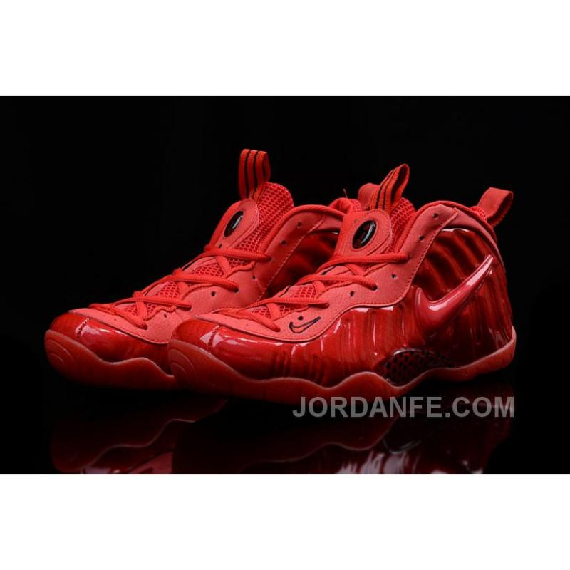 f5770fbfab ... nike air foamposite pro red october gym red black for sale