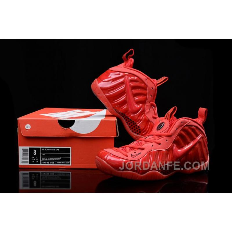 "314b03c2b7c ... Nike Air Foamposite Pro ""Red October"" Gym Red Black For Sale"