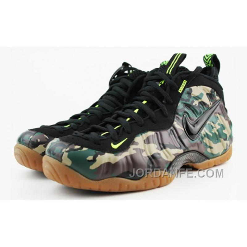"Nike Air Foamposite Pro PRM LE ""Army Camo"" ForestBlack For Sale ... e70bd4a62"
