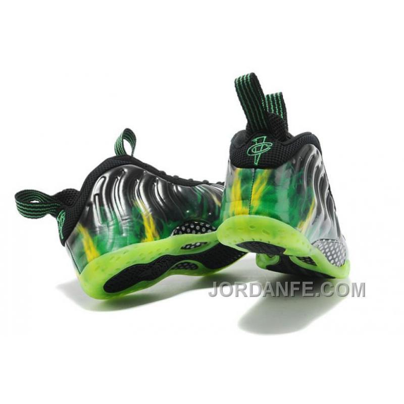 """... Nike Air Foamposite One """"ParaNorman"""" Black/Electric Green For Sale New  Arrival ..."""
