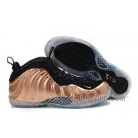 "Nike Air Foamposite One ""Dirty Copper"" Black/Metallic Copper For Sale Hot"