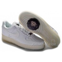 Nike Air Force 1 Low Mens All White Super Deals