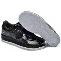 Nike Air Force 1 Low Mens Black White Xmas Deals 214776