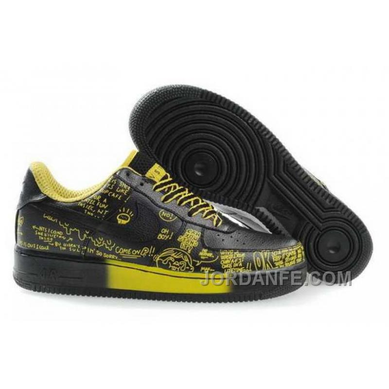 a679574577a Nike Air Ce 1 Low Mens Black Yellow For Sale, Price: $75.25 - Air ...
