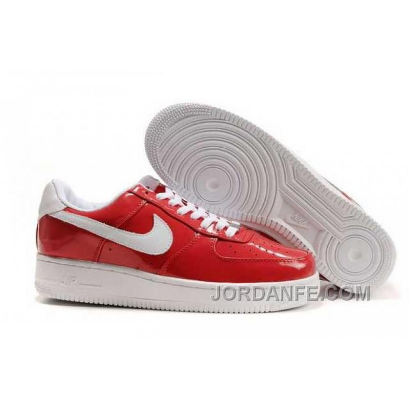 best sneakers 33341 84e01 Nike Air Force 1 Low Mens Red White Xmas Deals