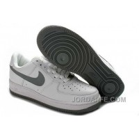 Nike Air Force 1 Low Mens White Grey Discount