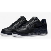 2016 AIR FORCE 139-46718152-010 Black Woven Sneaker Low Men Free Shipping