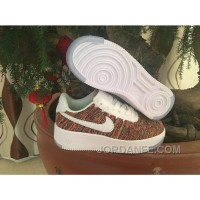Kids Air Force One Flyknit Multi Yellow Cheap To Buy