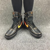 Nike Special Forces Air Force 1 Boots Faded Olive/Faded Black Orange Top Deals