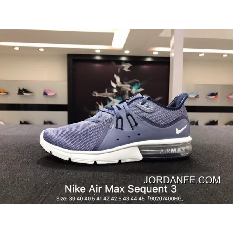 sports shoes 7de07 a4cd0 2018 Discount Nike Sport Shoes Men 2018 Spring New AIR MAX Shoes Zoom  Casual Wear-resisting Running Shoes White Blue Black Blue Peak Shamrock  921694-402