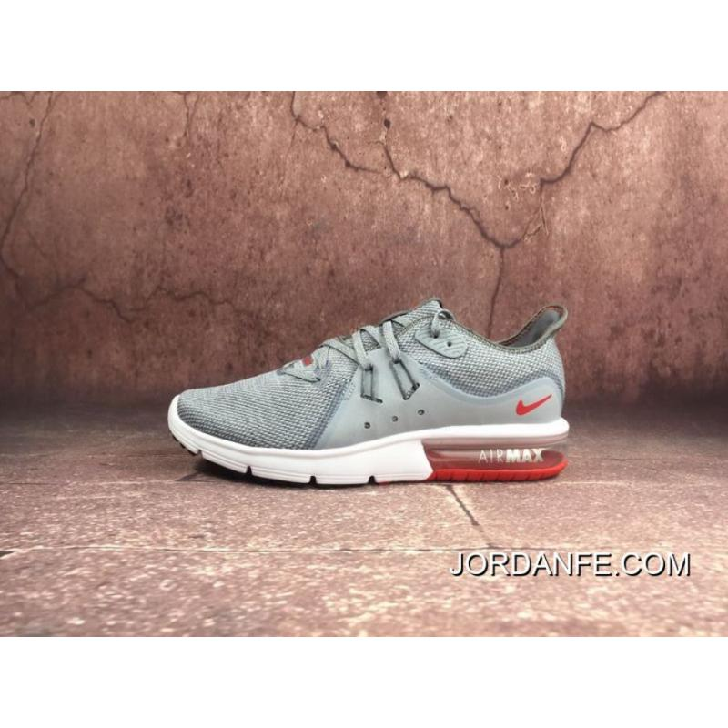 80893de700 Nike Sport Shoes Men 2018 Spring New AIR MAX Shoes Zoom Casual  Wear-resisting Running Shoes Cold Red Wolf Grey Ash University 921694-060  2018 Top Deals
