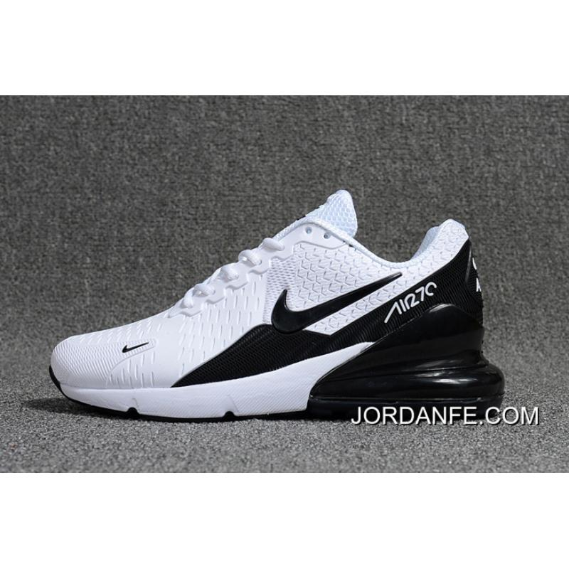 quality design e3419 5bcb6 2018 Latest Nike Air Max Flair 270 2 Nanotechnology Plastic Zoom White Black