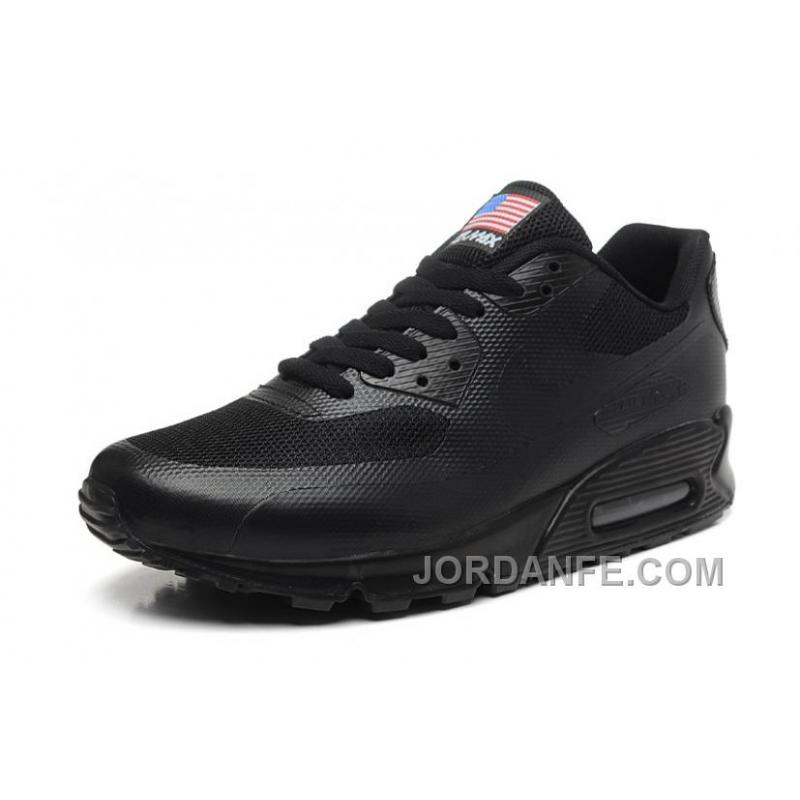 9f2fe065d6e0 NIKE Air Max 90 Hyperfuse American Flag Black 36-46 Cheap To Buy ...