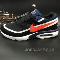 Nike Air Max Premium BW 819523-064 Black Navy Blue Red For Sale