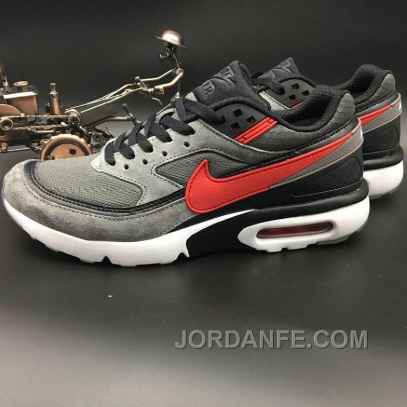 innovative design bd6df 5246b Nike Air Max Premium BW 819523-067 Dark Grey Red Discount ...