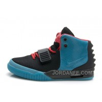 "Nike Air Yeezy 2 ""South Beach"" Glow In The Dark Sole For Sale Top"