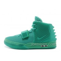 "Nike Air Yeezy 2 ""Green Lantern"" Glow In The Dark 2014 For Sale Xmas Deals"