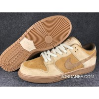 Nike SB Dunk Low QS Wheat 883232-700 Women Men Authentic